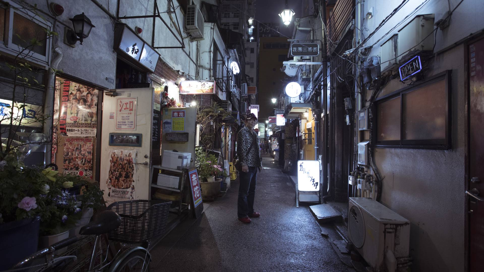 A restaurant owner from the Golden Gai shines a light on Shinjuk