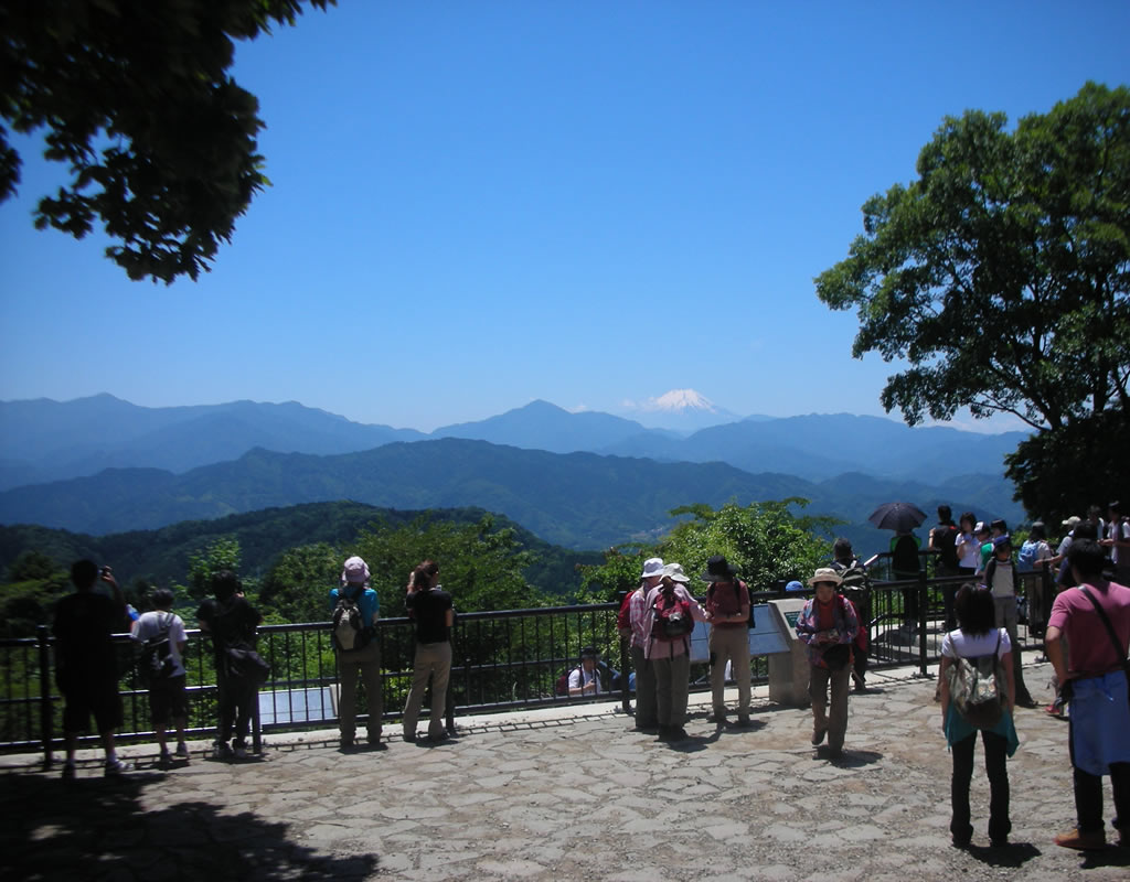 Mt.Takao Summit