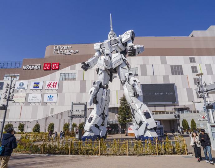 高达uc机体_台场周游指南_东京旅游官方网站GO TOKYO