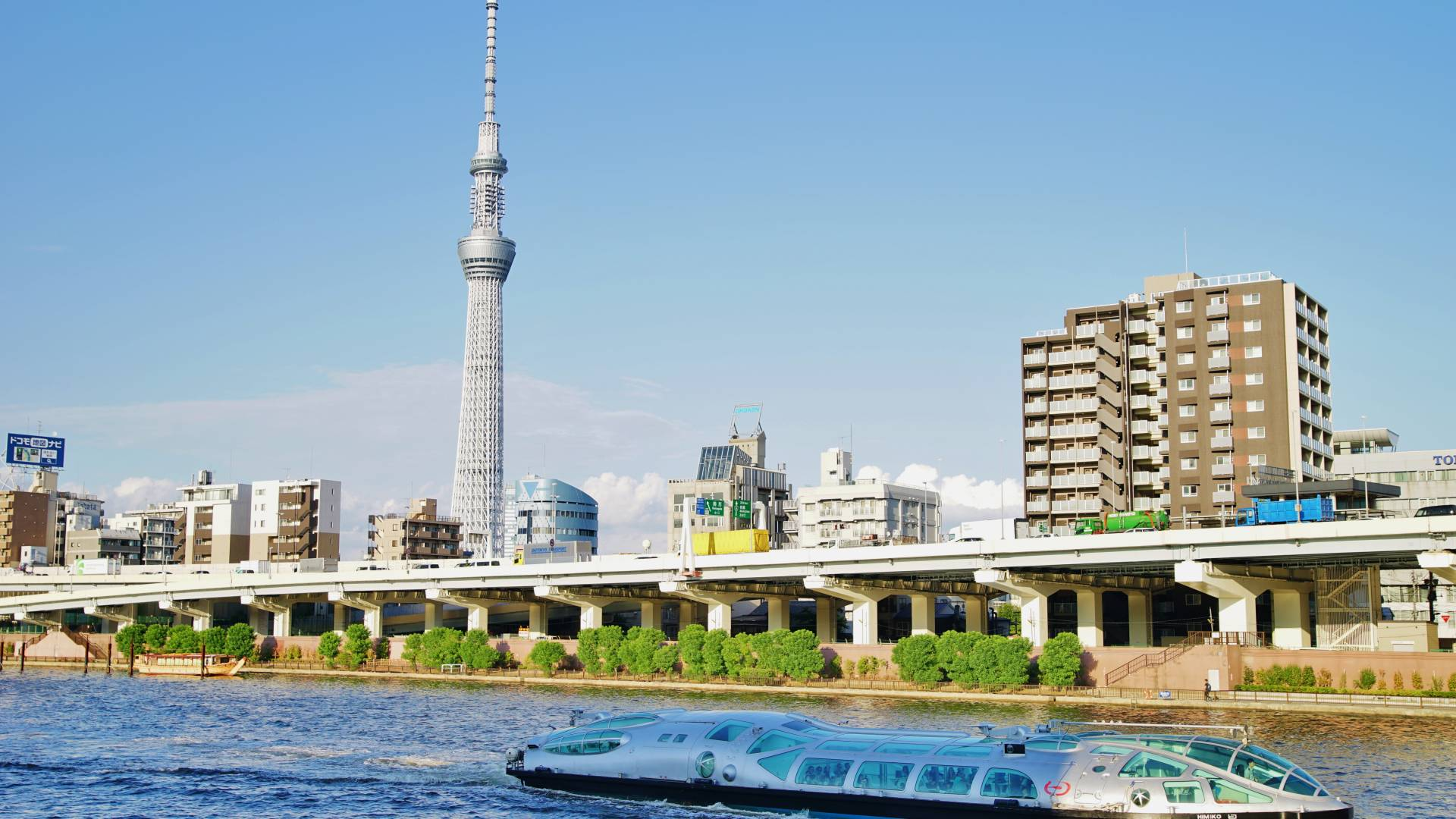 Strolling from Asakusa to Tokyo Skytree
