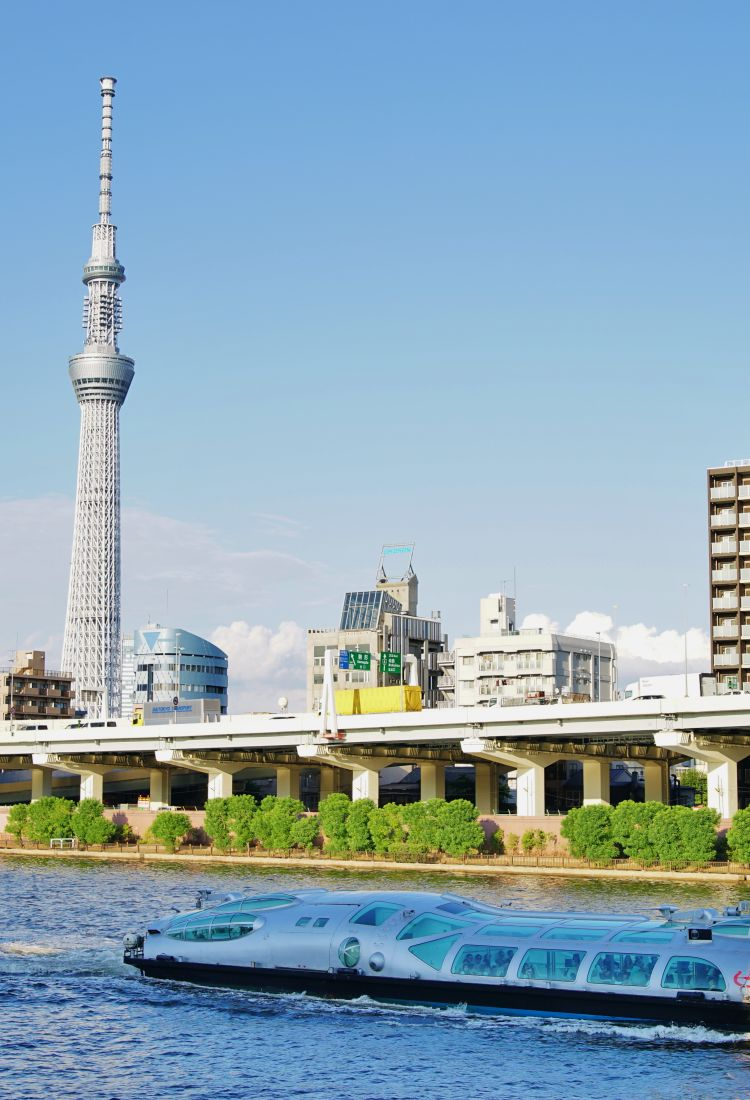 Strolling from Asakusa to Tokyo Skytree1