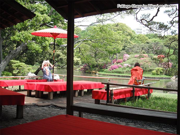 Teehaus Im Japanischen Garten