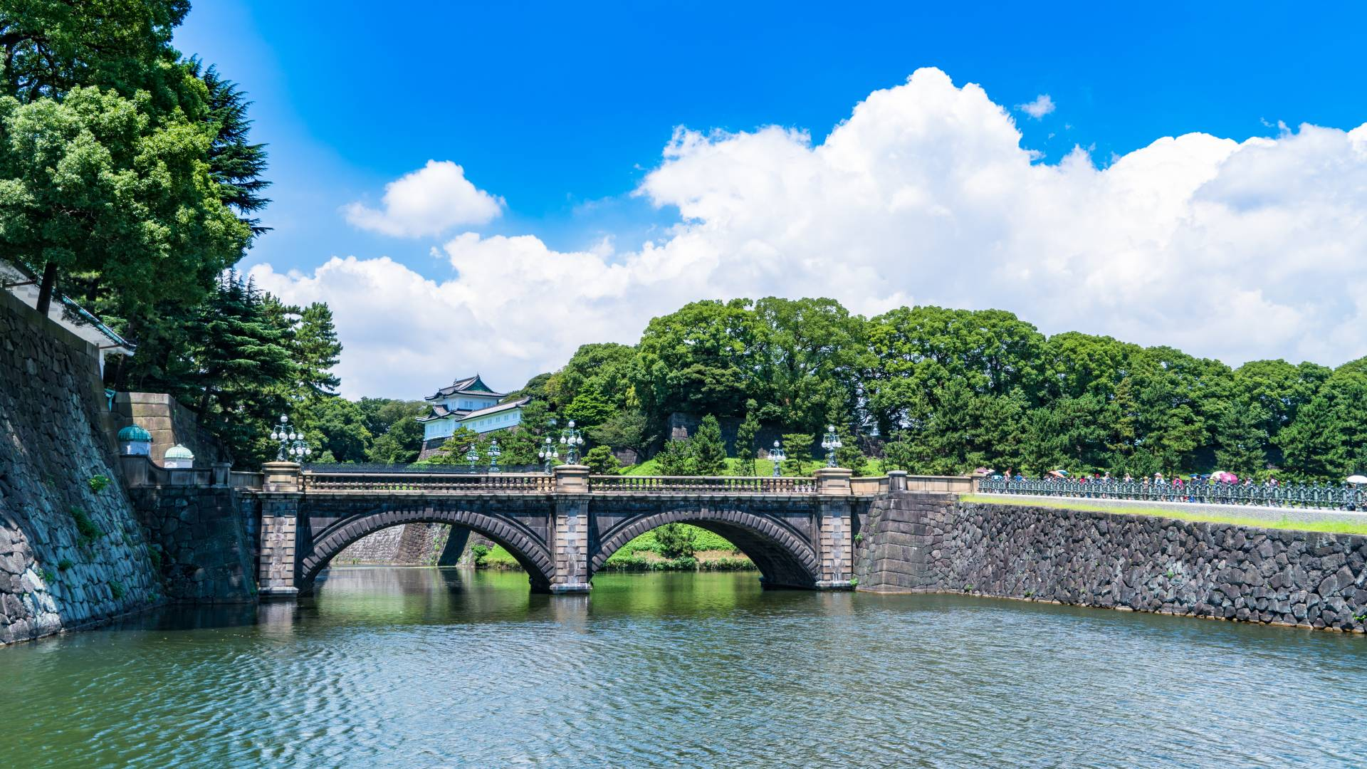 Imperial Palace And The Outer Garden