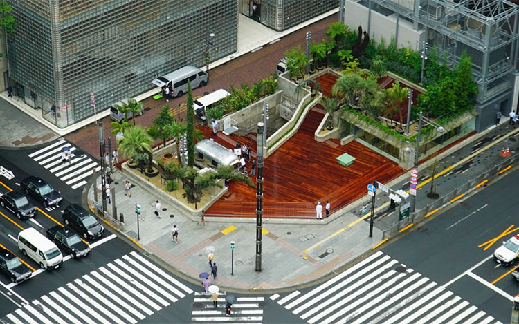 Ginza Sony Park The Official Tokyo Travel Guide Go Tokyo