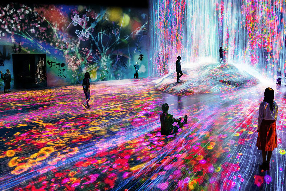 teamLab Borderless work