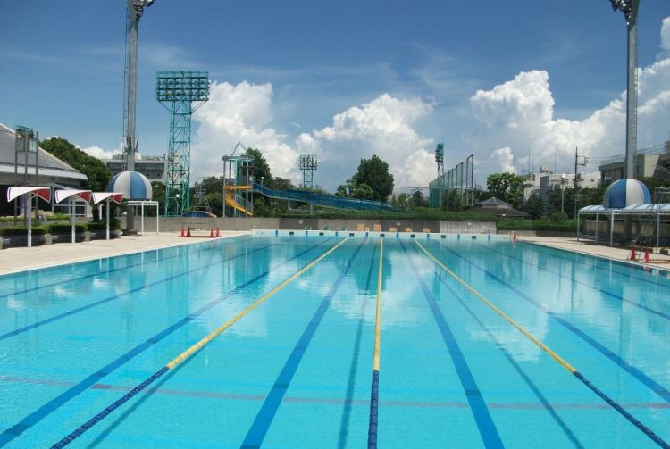 Haginaka Park Swimming Pool | The Official Tokyo Travel ...