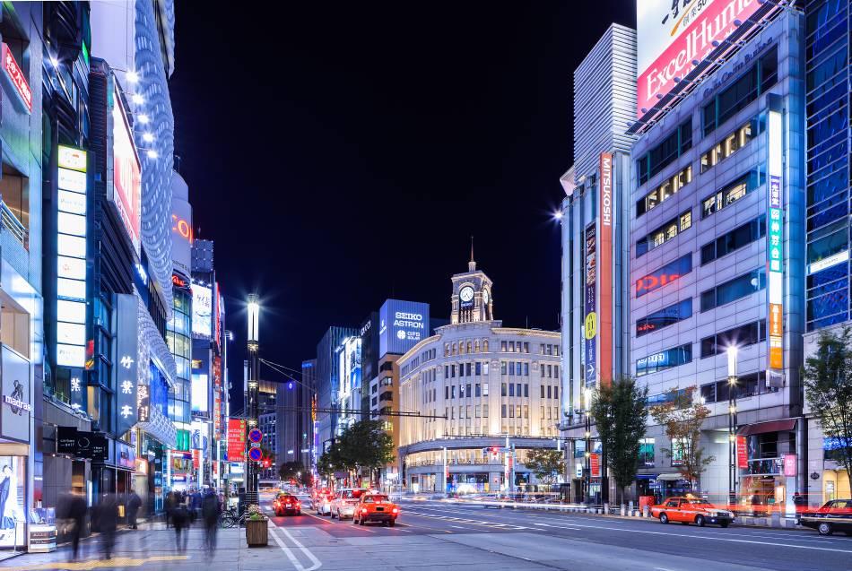 Ginza Dori | The Official Tokyo Travel Guide, GO TOKYO