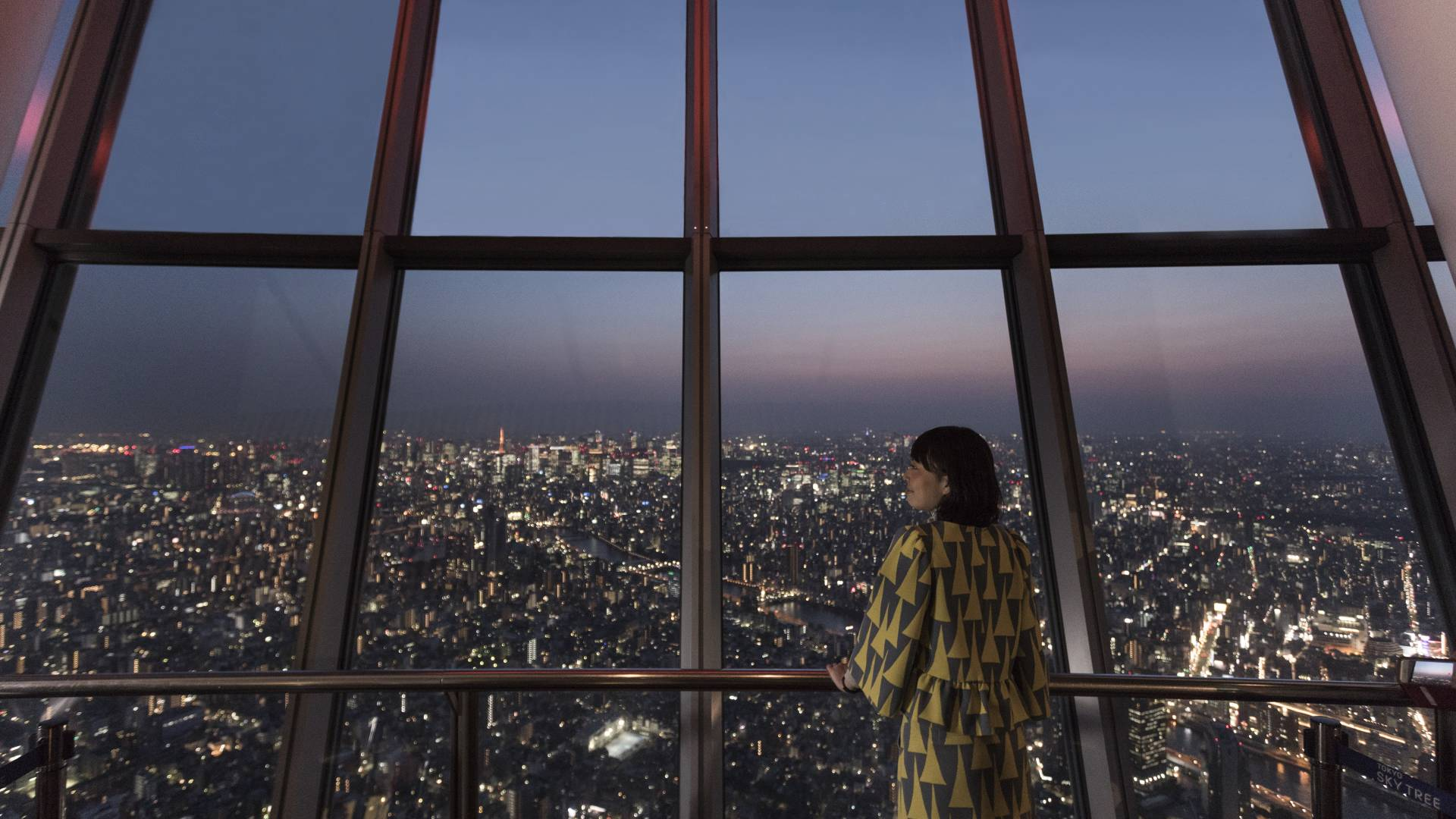 Unique perspectives on Tokyo, from above and below