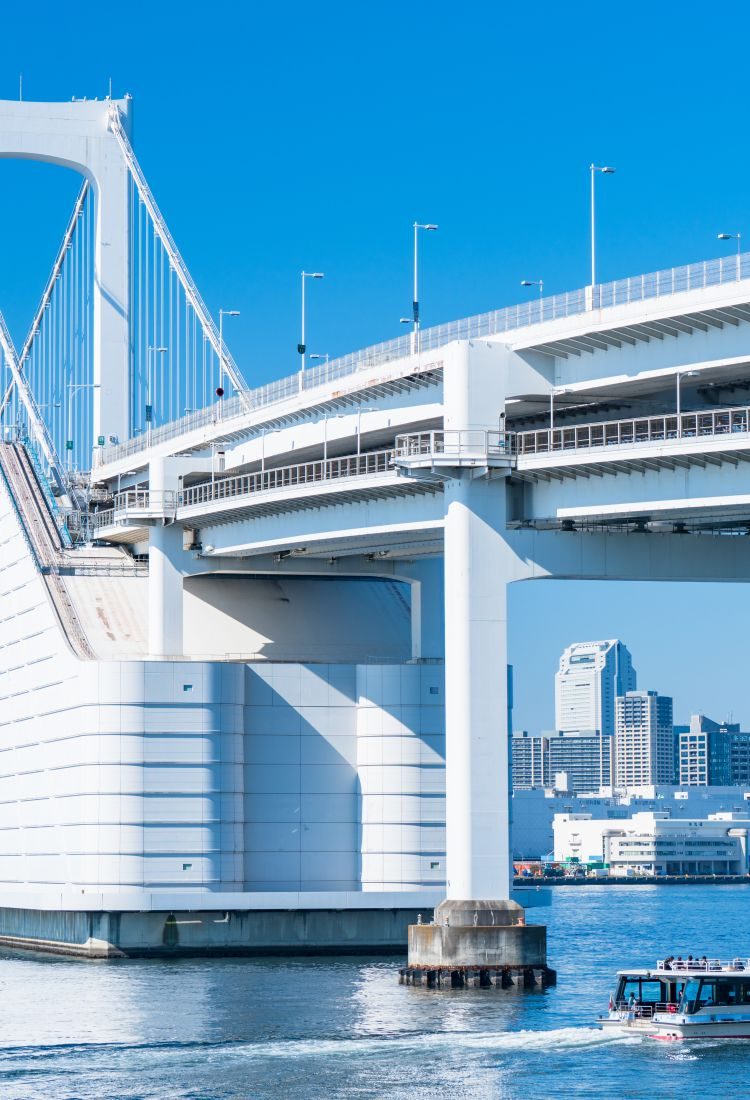 Rainbow Bridge and Oedo Onsen3