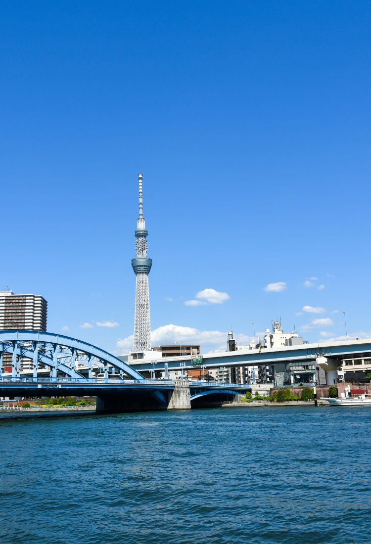 Take a walk along Sumida River1