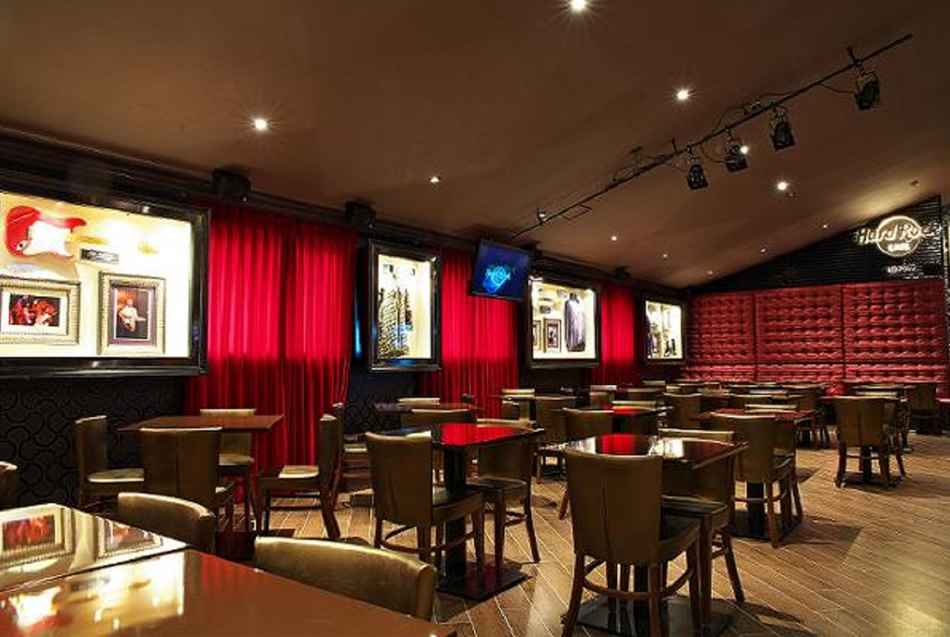 Interno dell'Hard Rock Café
