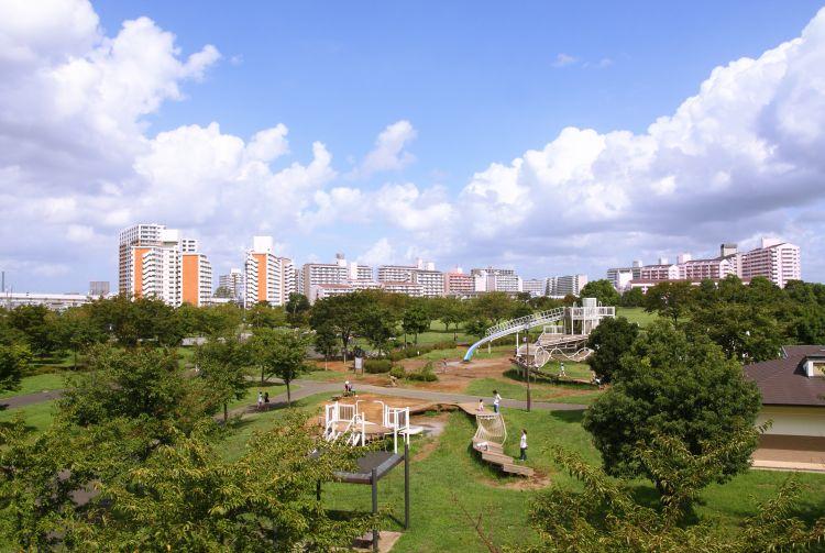 公園 大島 小松川