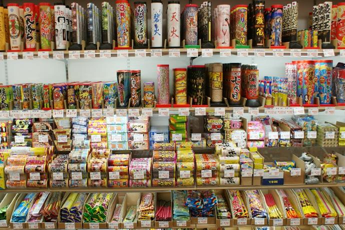 浅草橋の花火問屋/東京の観光公...