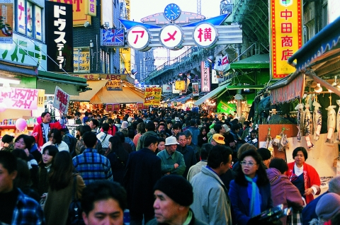 Ameyoko Shopping Street 01