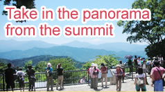 Take in the panorama from the summit
