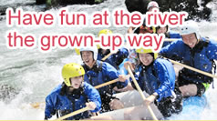 Have fun at the river the grown-up way