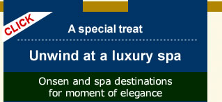 A special treat Unwind at a luxury spaOnsen and spa destinations for moment of elegance