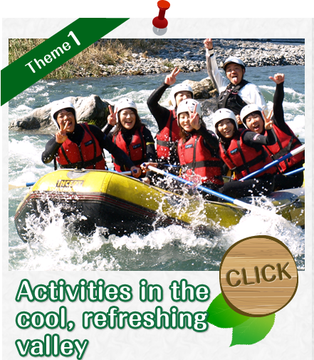 Activities in the cool, refreshing valley