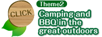 Theme2 Camping and BBQ in the great outdoors