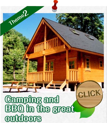Camping and BBQ in the great outdoors