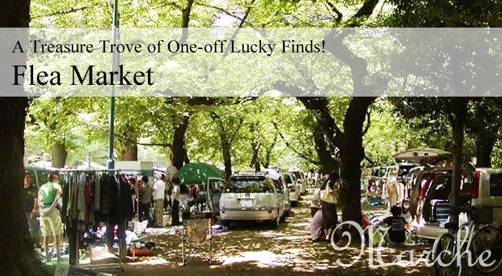 A Treasure Trove of One-off Lucky Finds!Flea Market