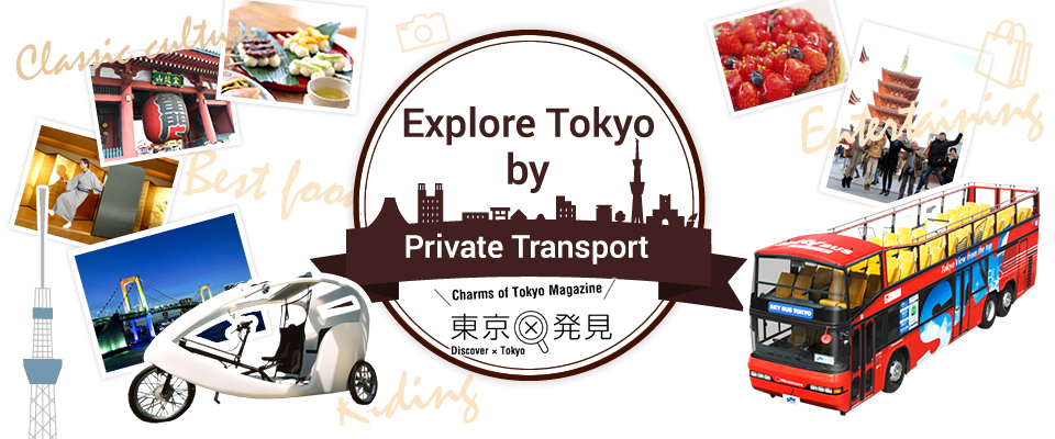 Explore Tokyo by Private Transport