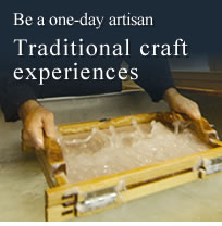 Be a one-day artisan—Traditional craft experiences