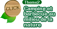 Theme2 Camping et barbecue au milieu de la nature