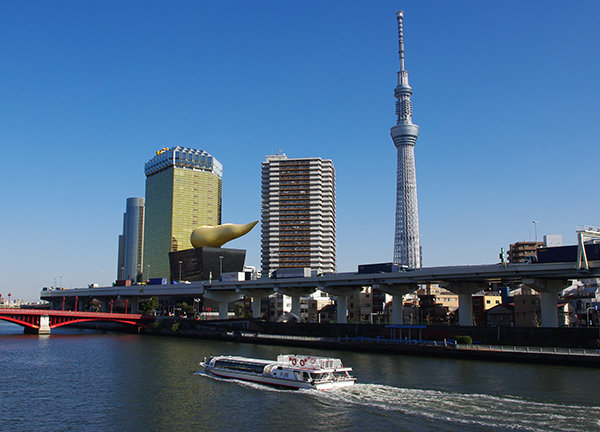 View of the Asakusa area